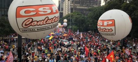 Greves, paralisações e bloqueios de avenidas tomam o País; CSP-Conlutas defende greve geral, já!
