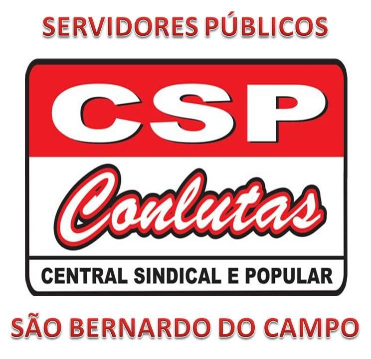 CSP-CONLUTAS – Servidores de São Bernardo do Campo