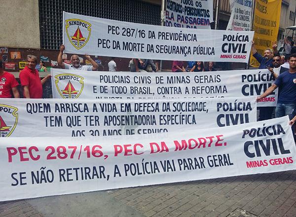 Chamado aos colegas GCMs para somarem forças com os demais trabalhadores e aderirem à greve geral de 28A